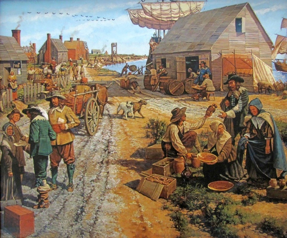 the challenges in establishing jamestown With spain, and was now looking westward to establish colonies along the  northeastern  as colonists experienced a variety of challenges including  hunger.